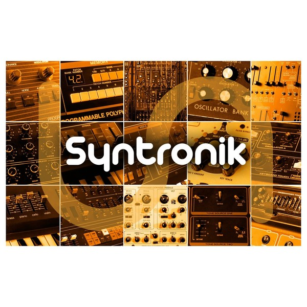 iK Multimedia Syntronik Synthesizer Collection - Logo Main