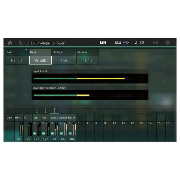 Yamaha MONTAGE 8 Synthesizer - Envelope