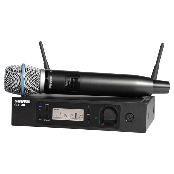 Shure GLXD24R Vocal System With BETA87A
