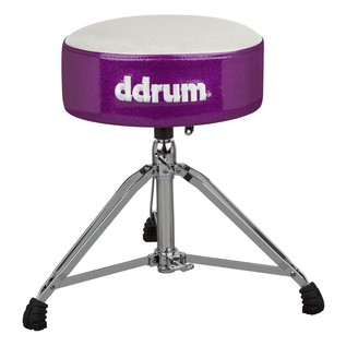 Ddrum Mercury FAT Throne, White/Purple