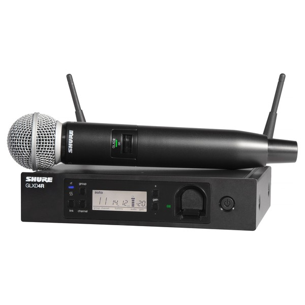 Shure GLXD24R Vocal System With SM58