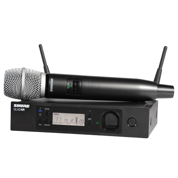 Shure GLXD24R Vocal System With SM86