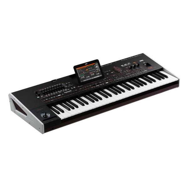 Korg PA4x 61 Keyboard - Angled