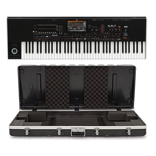 Korg Pa4X-76 Keyboard with Gear4music ABS Case - Bundle