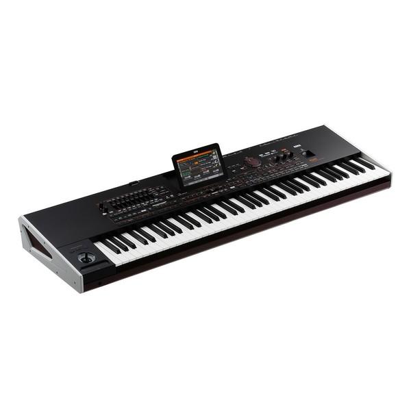 Korg Pa4X-76 Keyboard - Angled