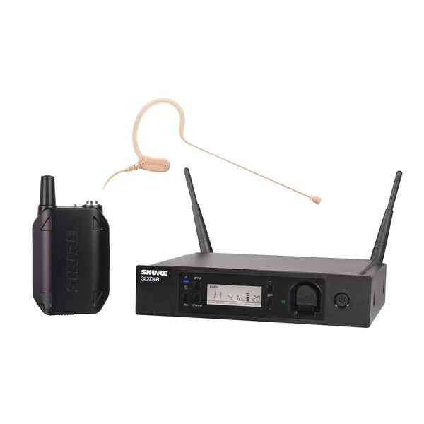 Shure GLXD14R/MX153 Advanced Wireless Earset System with MX153T