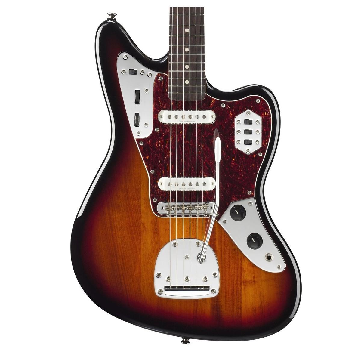 squier by fender vintage modified jaguar guitar sunburst at. Black Bedroom Furniture Sets. Home Design Ideas