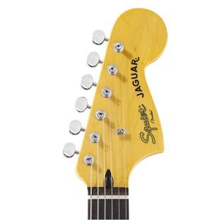 Squier by Fender Vintage Modified Jaguar Guitar Headstock