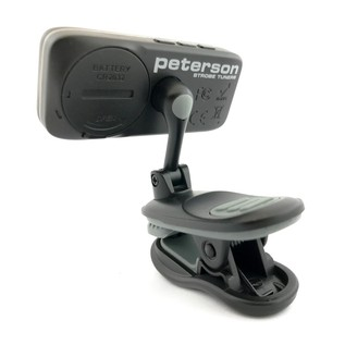 Peterson StroboClip HD, Clip On Strobe Tuner  Back