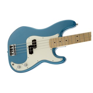 Fender Standard Precision Bass, MN, Lake Placid Blue - Sideways
