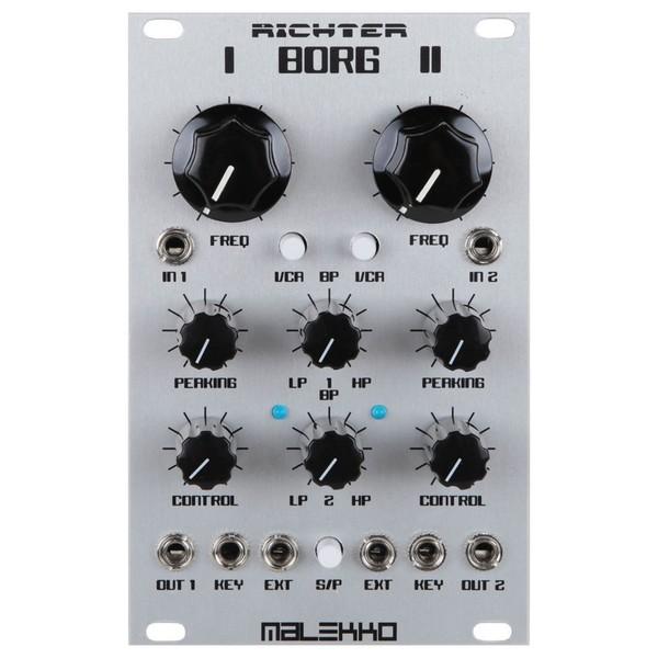 Malekko Richter 16hp Dual Analog Borg Filter Module - Front