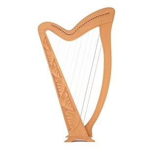 36 String Harp by Gear4music, Beech