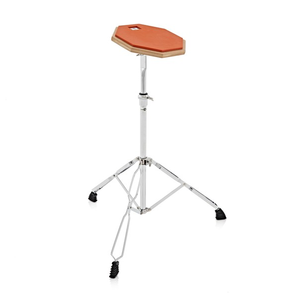 Single Practice Pad & Stand by Gear4music