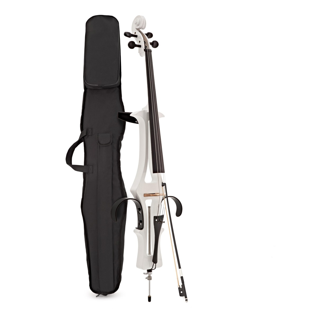 Click to view product details and reviews for Electric Cello By Gear4music White.