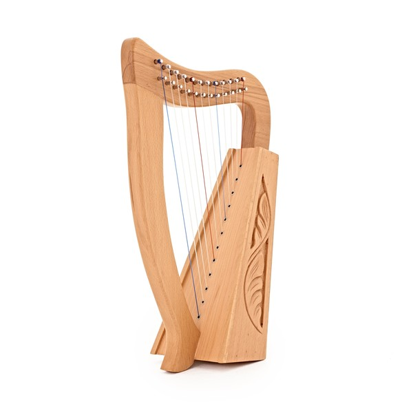 12 String Harp by Gear4music, Beech