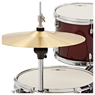 BDK-5 Drum Kit + Practice Pack, Wine Red