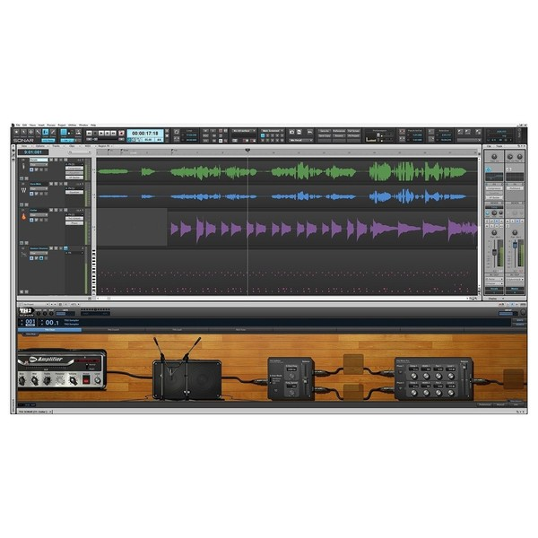 Cakewalk SONAR Artist Music Production Software - Arrangement Window
