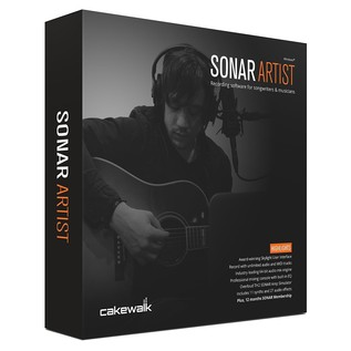 Cakewalk SONAR Artist Music Production Software - Boxed