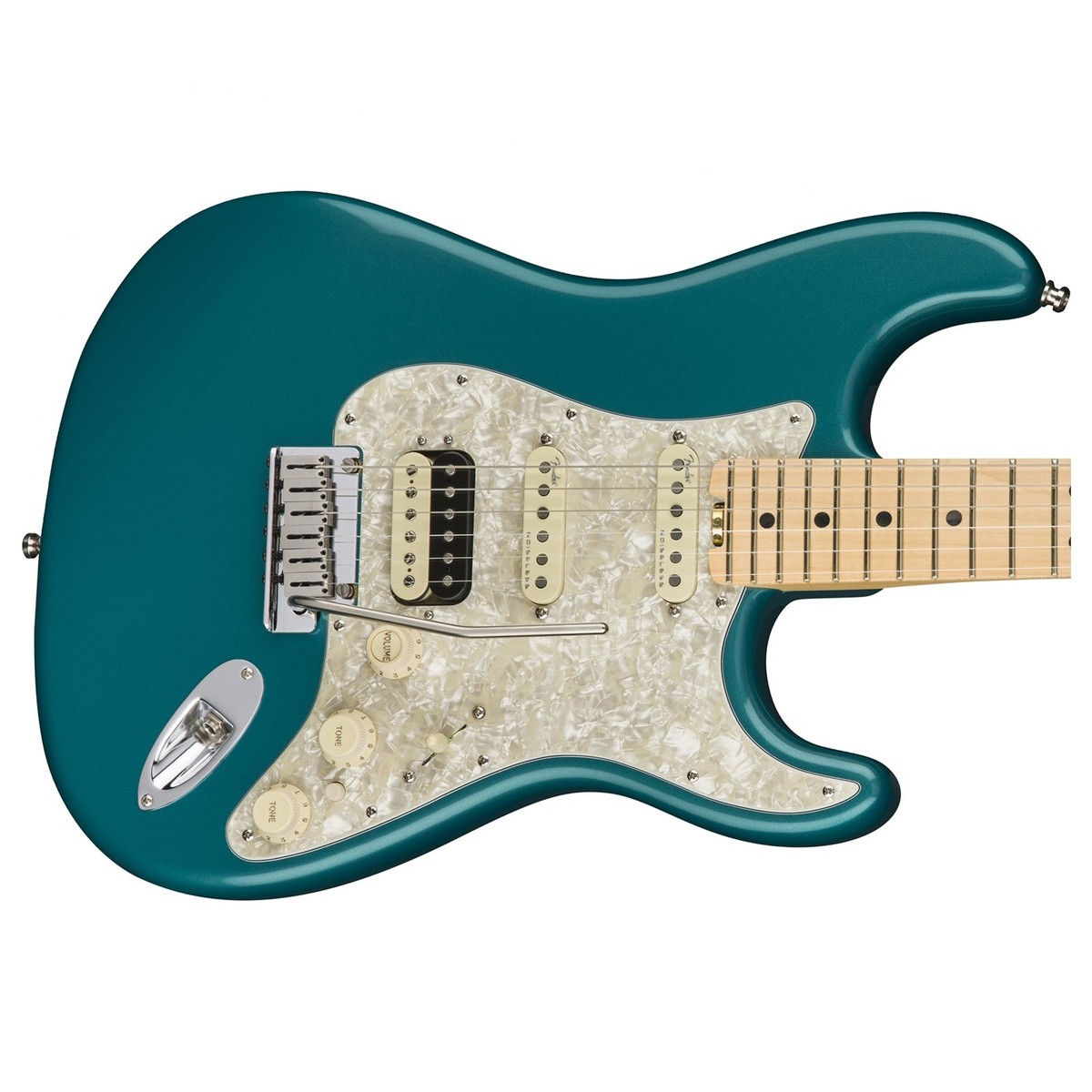 Fender American Elite Stratocaster HSS Shawbucker MN, Ocean ...