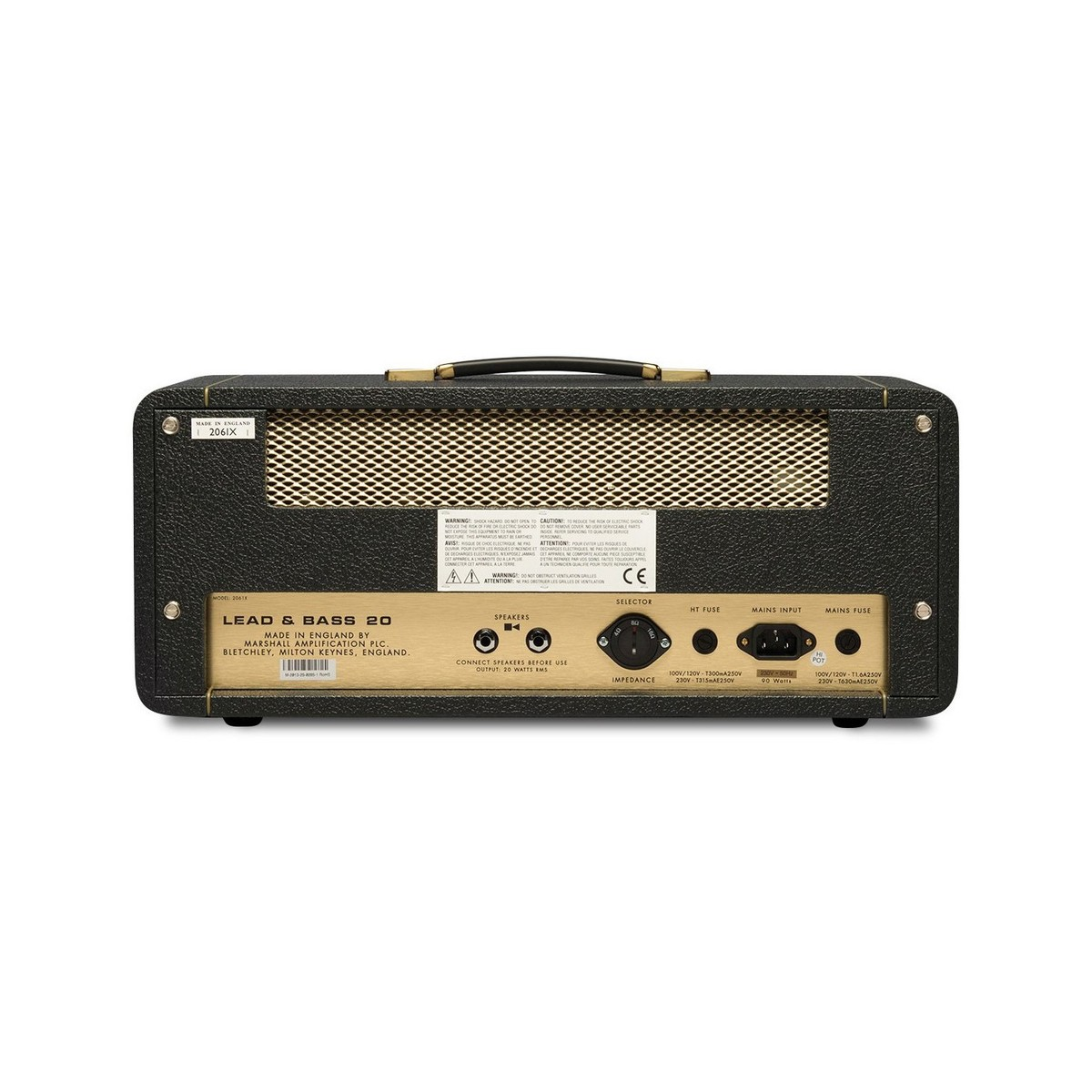 DISC Marshall 2061X Handwired Guitar Tube Amplifier Head at ...