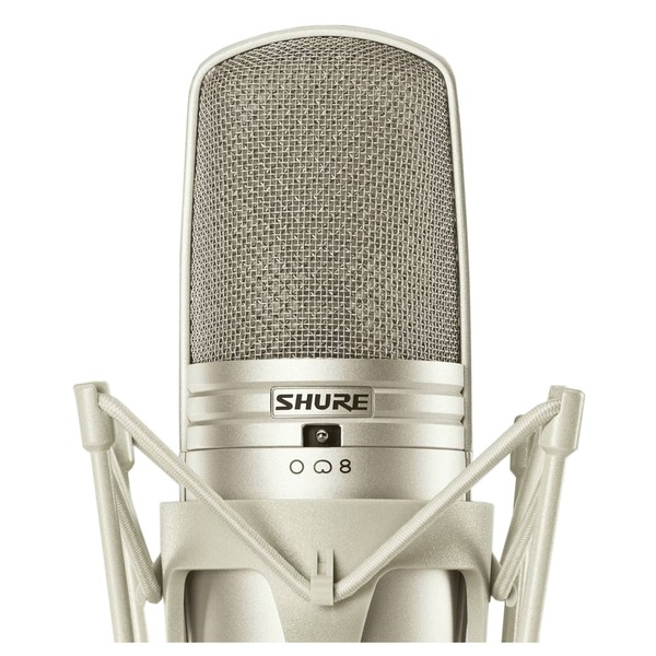 Shure KSM44A Large Dual Diaphragm Microphone With Shock Mount