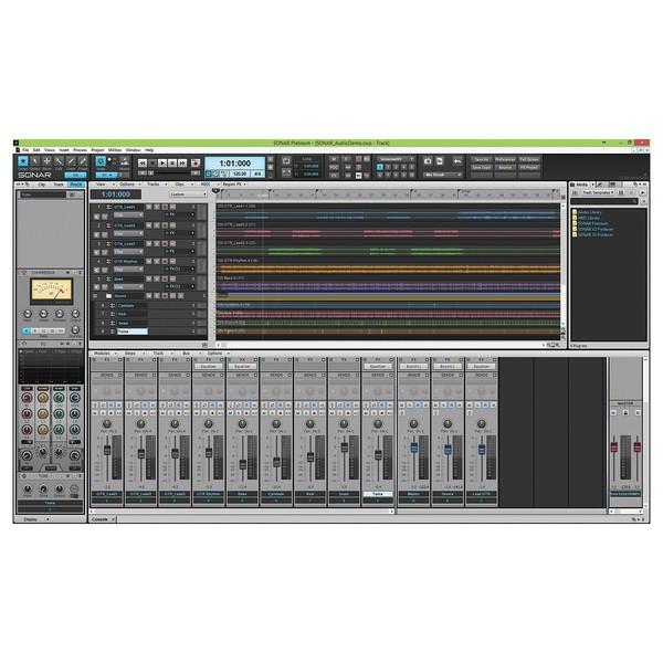 Cakewalk SONAR Platinum Production Software Upgrade from X3 Producer - Arrangement