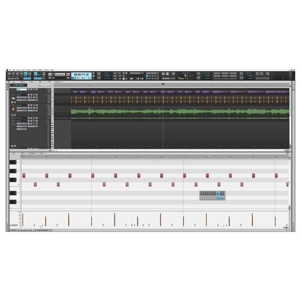 Cakewalk SONAR Platinum Production Software - Piano Rollo