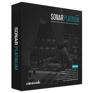 Cakewalk SONAR Platinum Production Software Upgrade from X3 Producer - Boxed