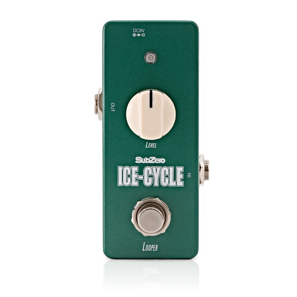 SubZero Ice-Cycle Looper Micro Guitar Pedal