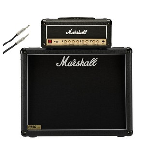 Marshall DSL15H DSL Series with 1936 2x12 Cab and speaker cable