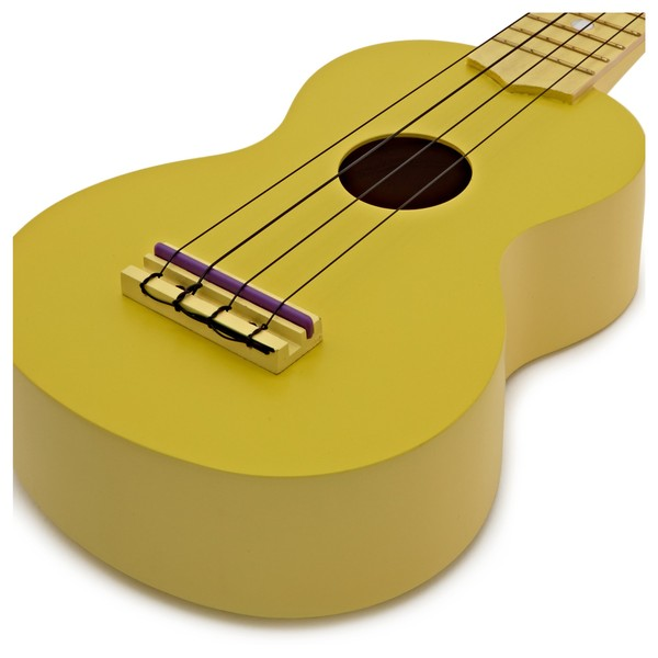 Stagg Soprano Ukulele & Bag, Lemon Yellow
