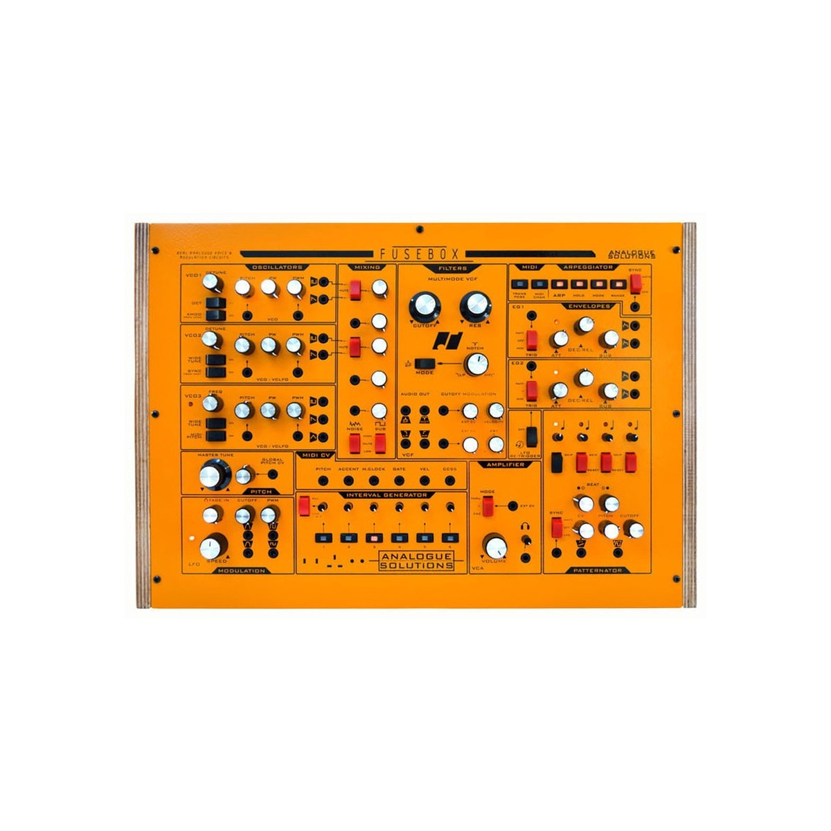 Analogue Solutions Fusebox At Gear4music Audio Fuse Box