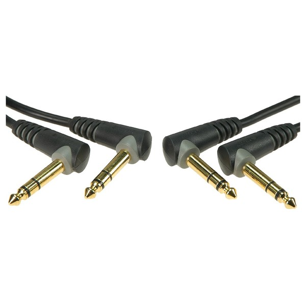 Klotz 1/4'' Angled Patch Cable Set, 0.3m