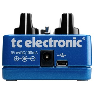 TC Electronic Flashback Delay & Looper Guitar Effects Pedal Back
