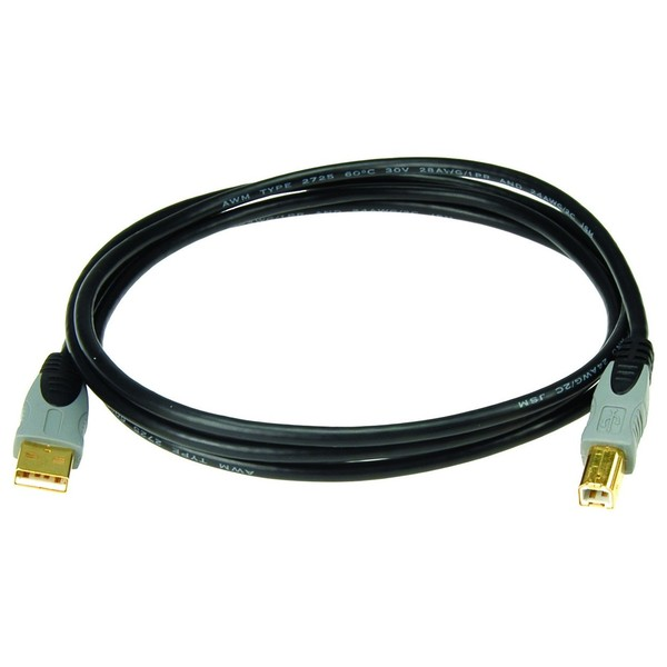 Klotz USB 2.0 A-B Cable, 1.5m