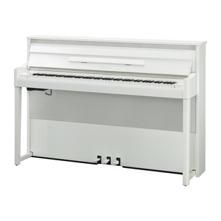 Yamaha NU1X Avantgrand Hybrid Digital Piano, Polished Brilliant White