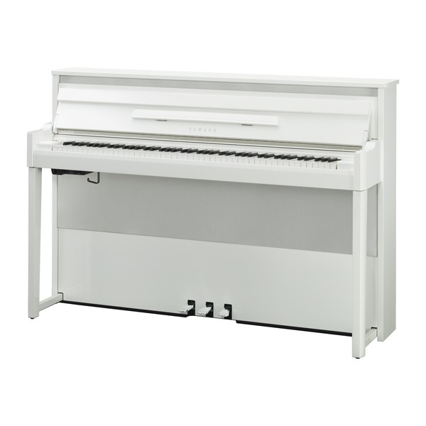 Yamaha NU1X Avantgrand Hybrid Digital Piano, Polished Brilliant White