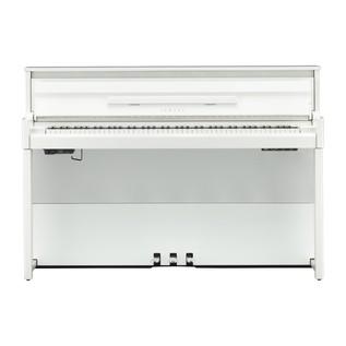 Yamaha NU1X Avantgrand Hybrid Digital Piano, White Front View