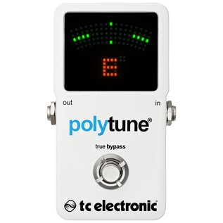 TC Electronic PolyTune 2 Polyphonic Tuner Strobe