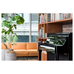 Yamaha NU1X Avantgrand Hybrid Digital Piano, Polished Ebony