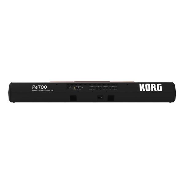 Korg Pa700 Oriental Professional Arranger Keyboard Rear