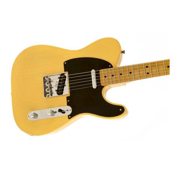Fender Road Worn 50s Telecaster, Blonde - Side