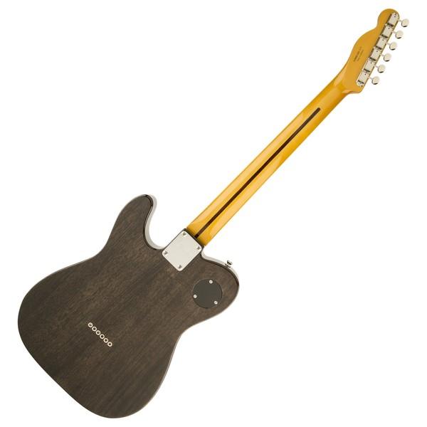Fender Modern Player Telecaster Thinline Deluxe, Black Transparent Back