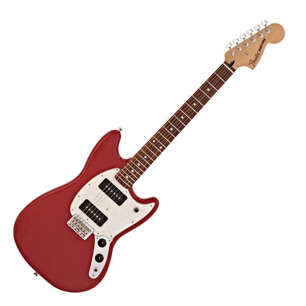 Fender Mustang 90 Electric Guitar, Pau Ferro, Torino Red
