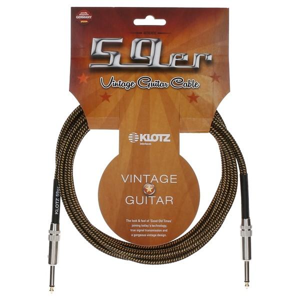 Klotz Vintage 59er Guitar Cable, 3m