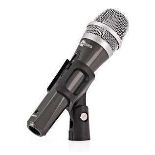 Vocal Microphone with Boom Stand and Cable
