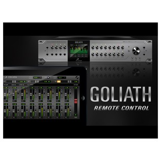 Antelope Audio Goliath Audio Interface - Mobile App