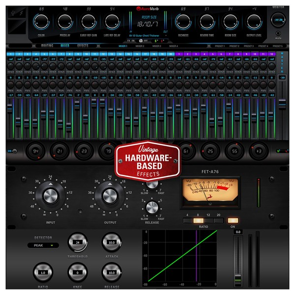 Antelope Audio Goliath HD - Compressors and Reverb