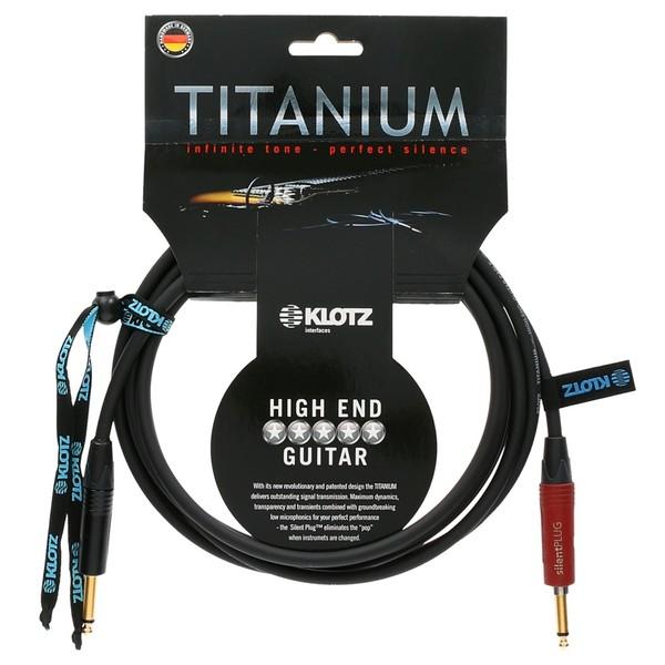 Klotz Titanium Guitar Cable, 4.5m