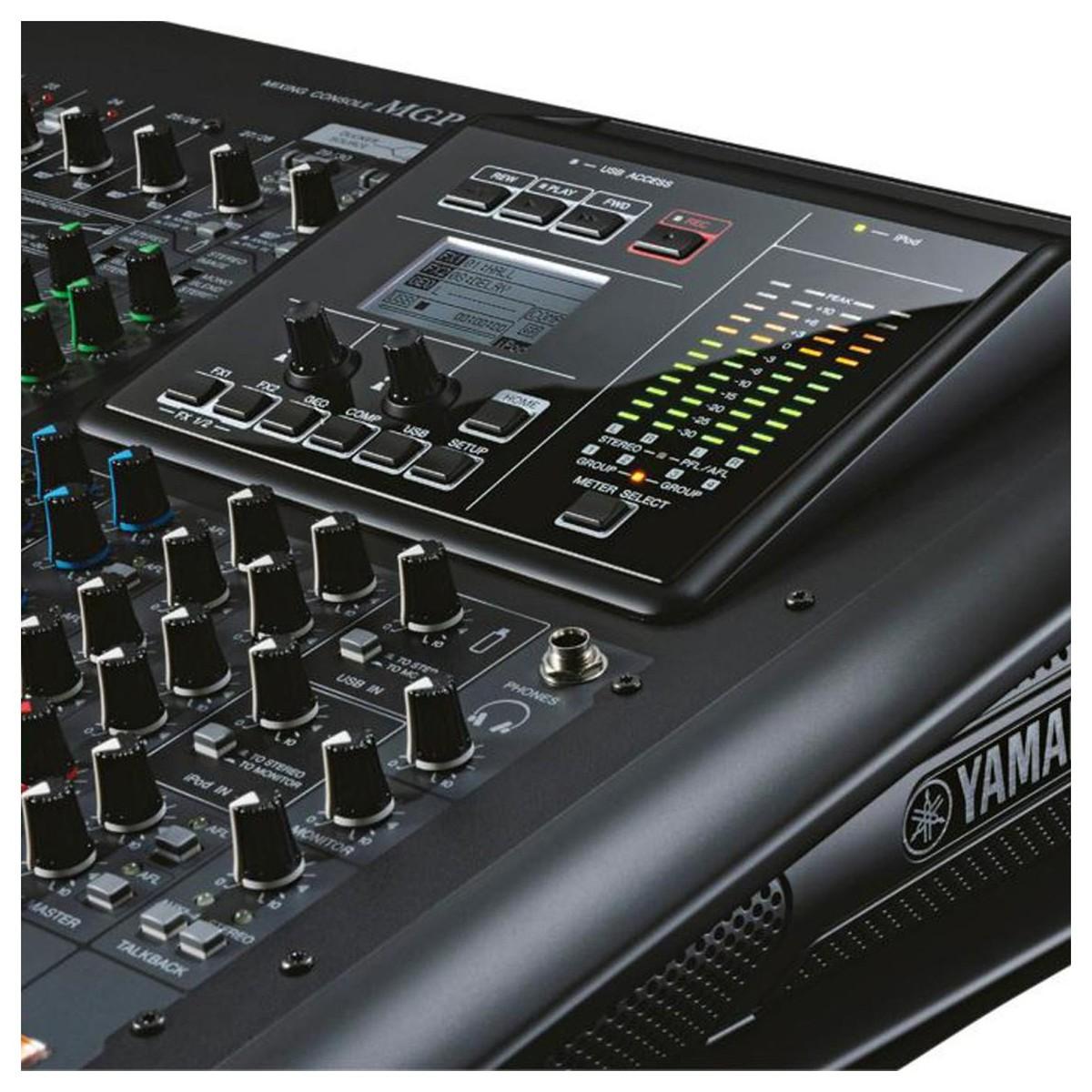 Yamaha mgp32x mixing console box opened at for Yamaha live console